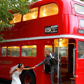 The Dream Wedding  by Ricky Singh - Wedding Bride & Groom ( london eye, people, photo, portrait, photography )