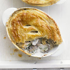 Russian Chicken & Mushroom Pies With Soured Cream & Dill