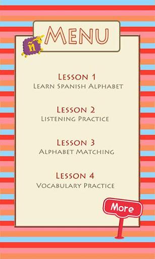 Learn Spanish Alphabet