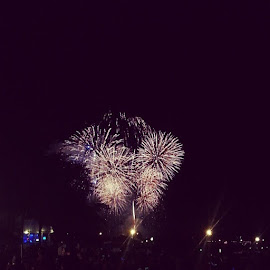 Independence Sky by Shannon Leigh - Instagram & Mobile Android ( wisconsin, colors, beautiful, independence, fireworks, night, july, lakegeneva )