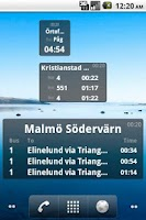 Screenshot of Bus Stop Info Skåne
