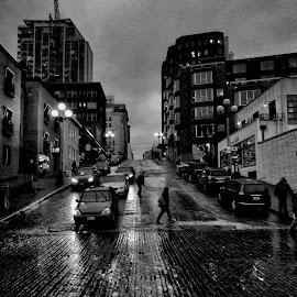 by Gary Rea - City,  Street & Park  Street Scenes