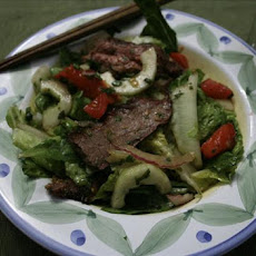 Thai Salad with Grilled Flank Steak