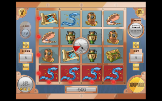 Screenshot of Slot Adventure Atlantis