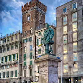 Raffaele Rubatino, Genova by Cristian Peša - Buildings & Architecture Statues & Monuments