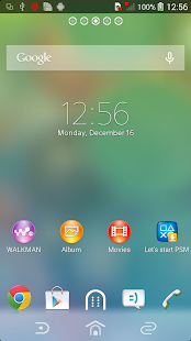 App XPERIA™ Clean Foggy Theme APK for Windows Phone