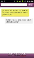 Screenshot of Pimp Translator FREE