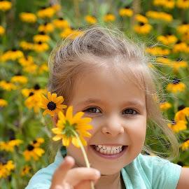 flowers by Julian Markov - Babies & Children Child Portraits