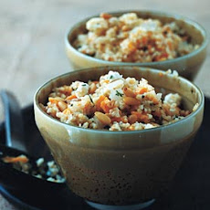 Bulgur, Apricot, and Pine Nut Dressing
