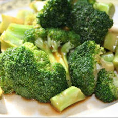 Stir-Fried Asian Style Broccoli