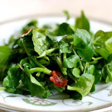 Wilted Watercress Salad