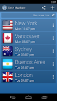 Screenshot of Time Machine - World Clock