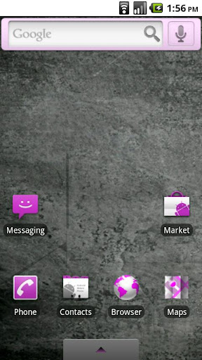 Pink Droid Theme