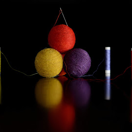 Needle Wools by Sarath Sankar - Artistic Objects Still Life