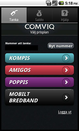 comviq-tanka for android screenshot