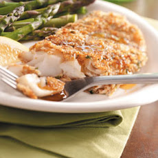 Walnut-Crusted Orange Roughy