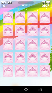 Princess Memory Game - screenshot