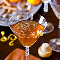 Spiced Manhattan Cocktail