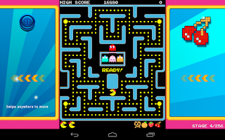 Screenshot of Ms. PAC-MAN by Namco