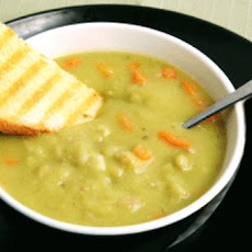 Split Pea Soup with Ham Hock