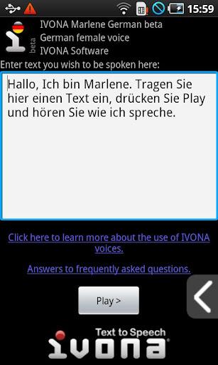 IVONA Marlene German beta