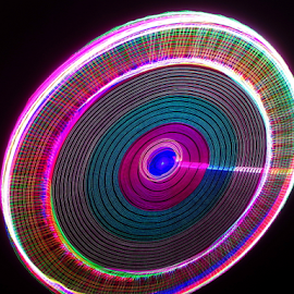 Clock ! by Jim Barton - Abstract Patterns ( laser light, colorful, light design, clock, laser, laser light show, light, laser dsign, science )