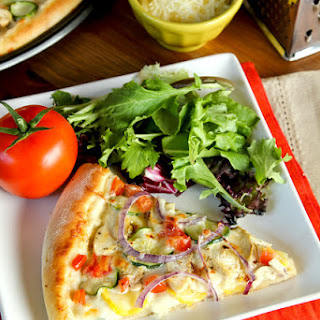Chicken Veggie Pizza