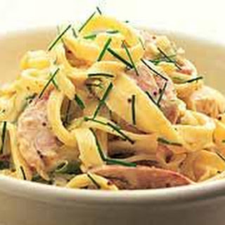 Smoked Chicken Fettuccine Recipes
