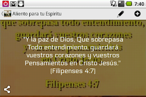 Screenshot of Aliento para tu Espiritu