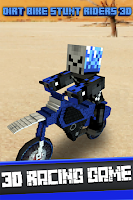 Screenshot of Dirt Bike Stunt Riders 3D