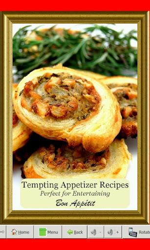 Tempting Appetizer Recipes