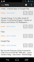 Screenshot of D Bitly
