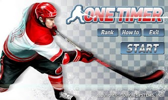 Screenshot of Ice Hockey - One Timer (Free)