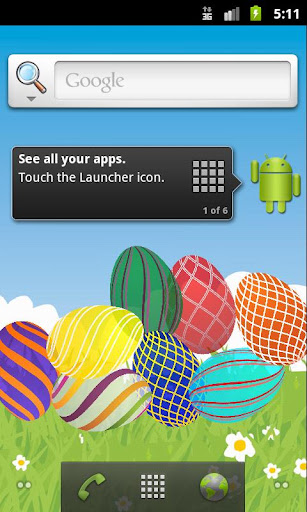 Easter Eggs Live Wallpaper PRO