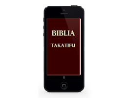 Screenshot of Swahili Bible, Biblia Takatifu