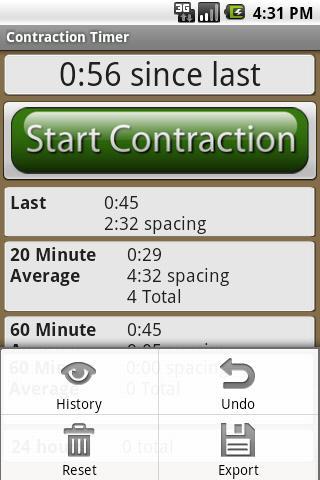【免費醫療App】Labor and Contraction Timer-APP點子