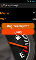 Screenshot of Kaç Yakmış?