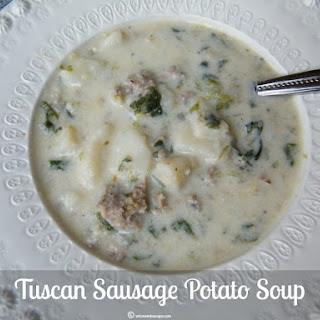 Tuscan Sausage Potato Soup