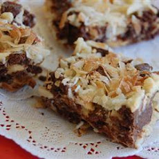 Chewy Chocolate Peanut Bars