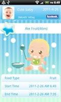 Screenshot of Baby Daychart