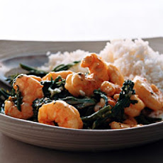 Spicy Wok Shrimp with Coconut Rice