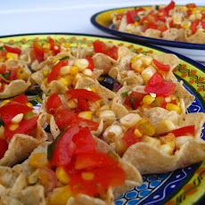 Creole Roasted Fresh Corn-Tomato Salsa