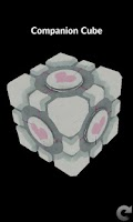 Screenshot of Portal Companion Cube