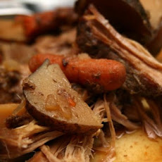 Melissa's Crock Pot Pot Roast