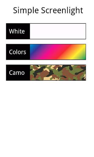 Simple Screenlight