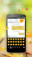 Screenshot of Emoji Keyboard - CrazyCorn