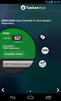 Screenshot of TankenApp von T-Online.de