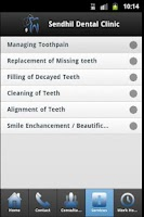Screenshot of Chennai Dental