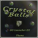 Crystal GO Launcher EX theme