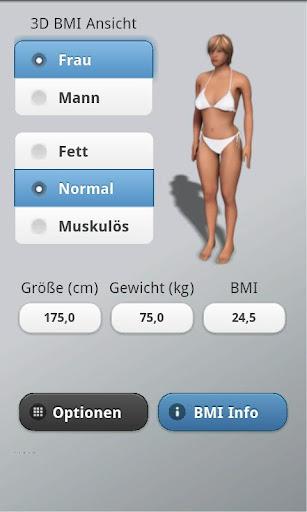 3D BMI Calculator 2